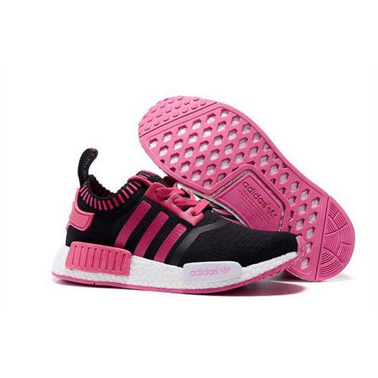 Adidas Originals Nmd R1 Runner Primeknit Women Black Pink Adidas